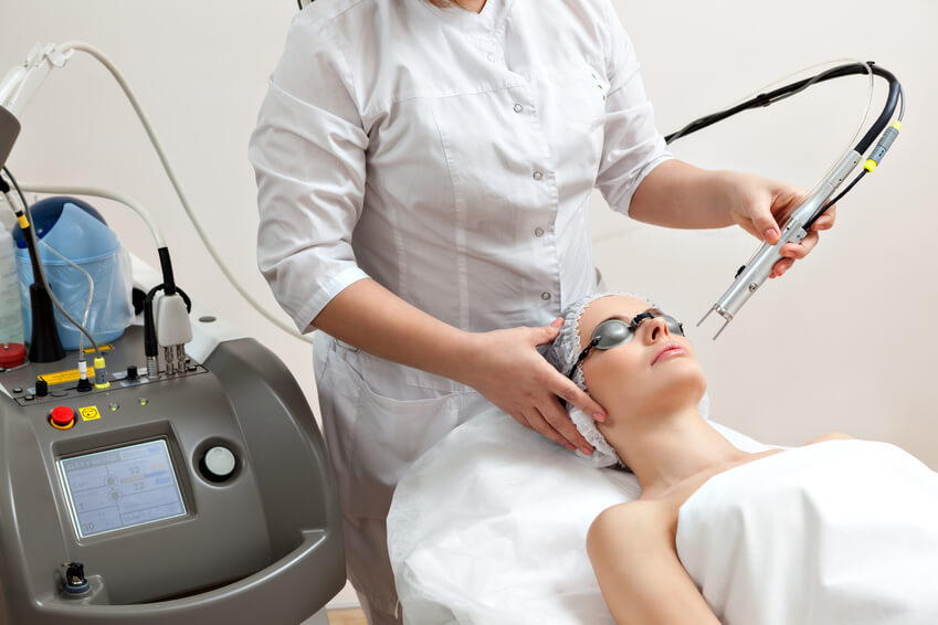 vascular lesions removal treatment, med spa service