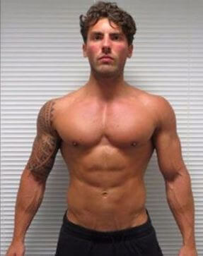young man after trt, ripped