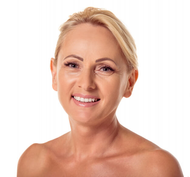 portrait of 50 year old, beauty enhancement services